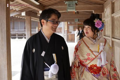 9月の弥彦和婚